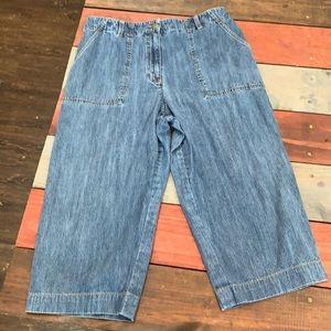 Jones Sport Cropped Jeans Size 14